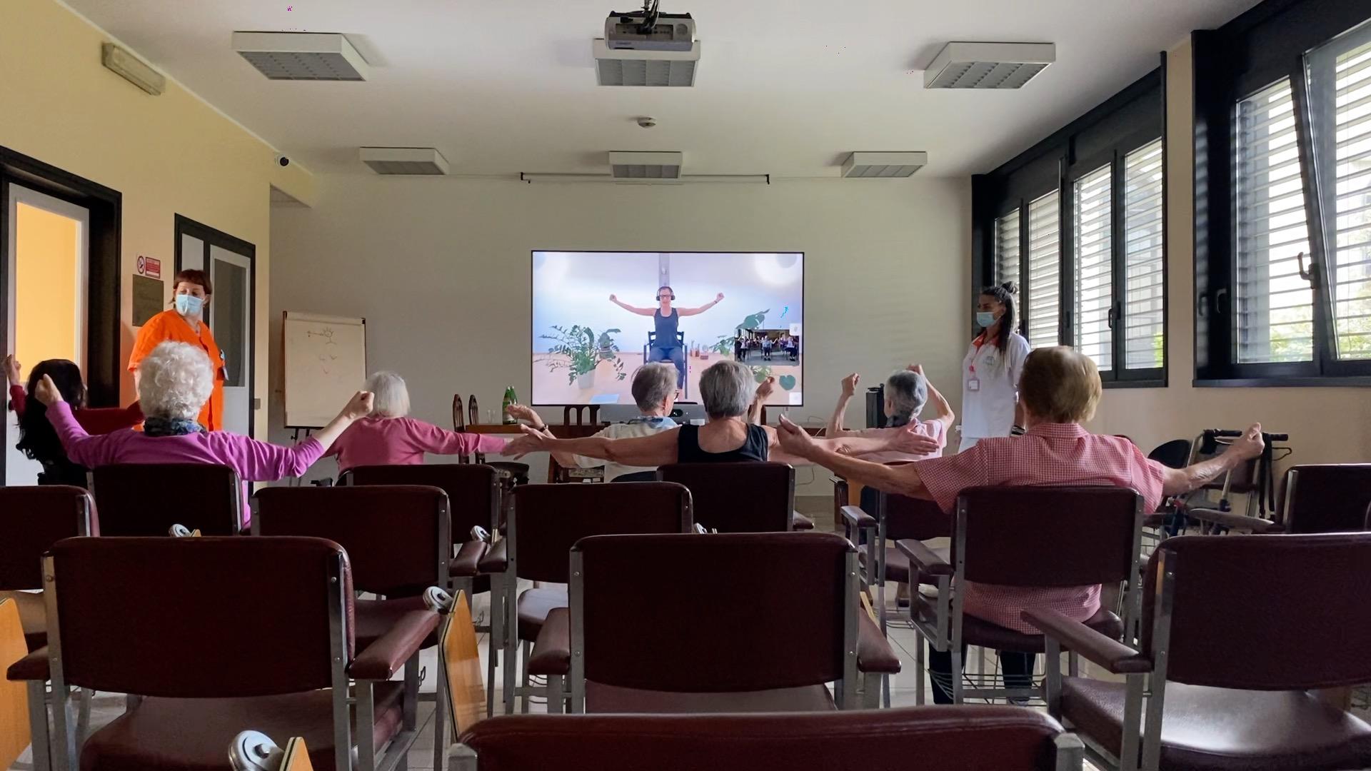 Fondazione Amplifon: Silver Yoga in Provvidenza!